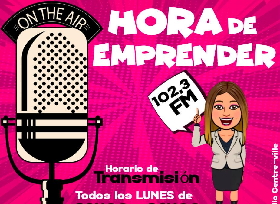 HORA DE EMPRENDER